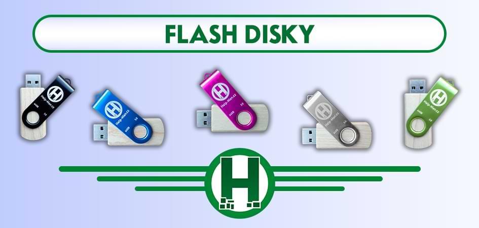 Flash disky Help Man.cz