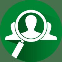 Aktuálně vybraná organizace Help-Man.cz - Ikona lupy