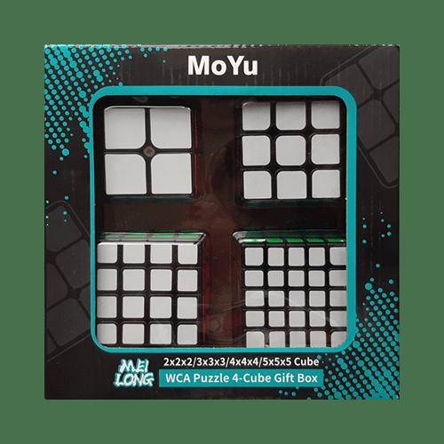 Sada Rubikových kostek - Krabička zepředu