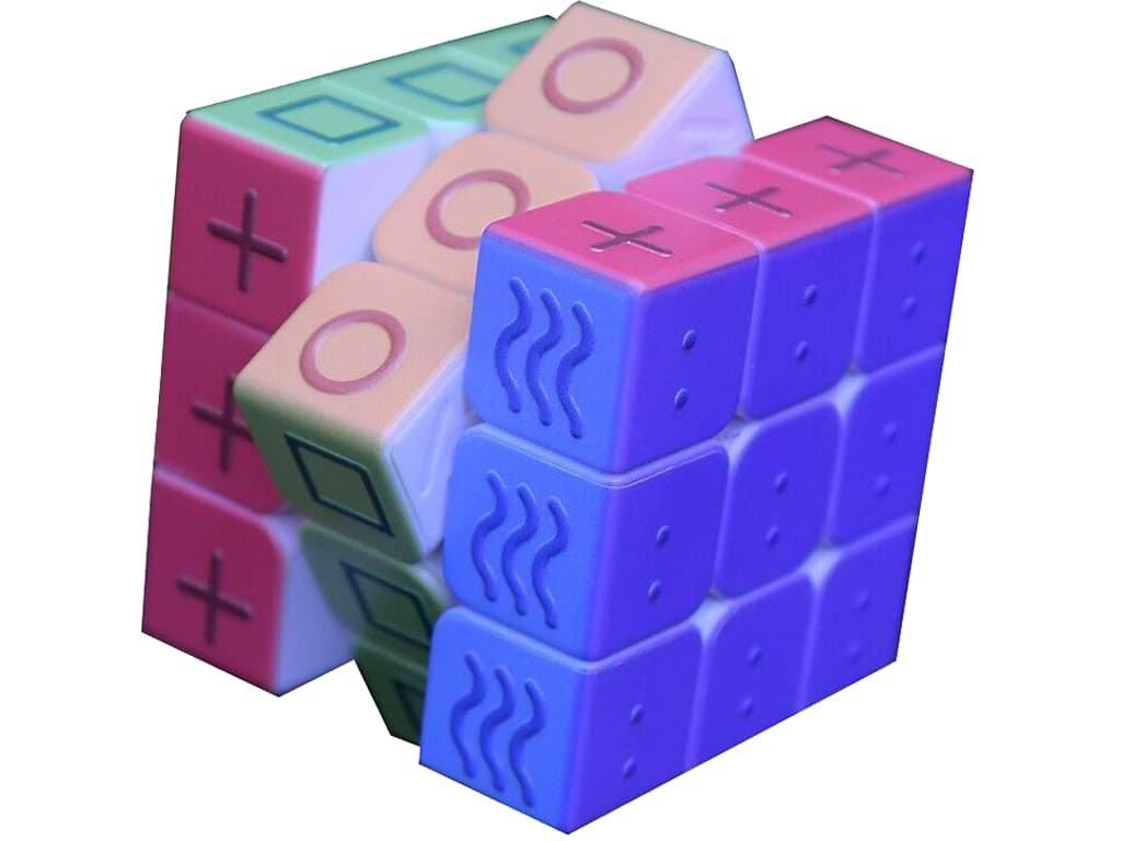 Rubikova kostka pro slabozraké a nevidomé - Help-Man.cz