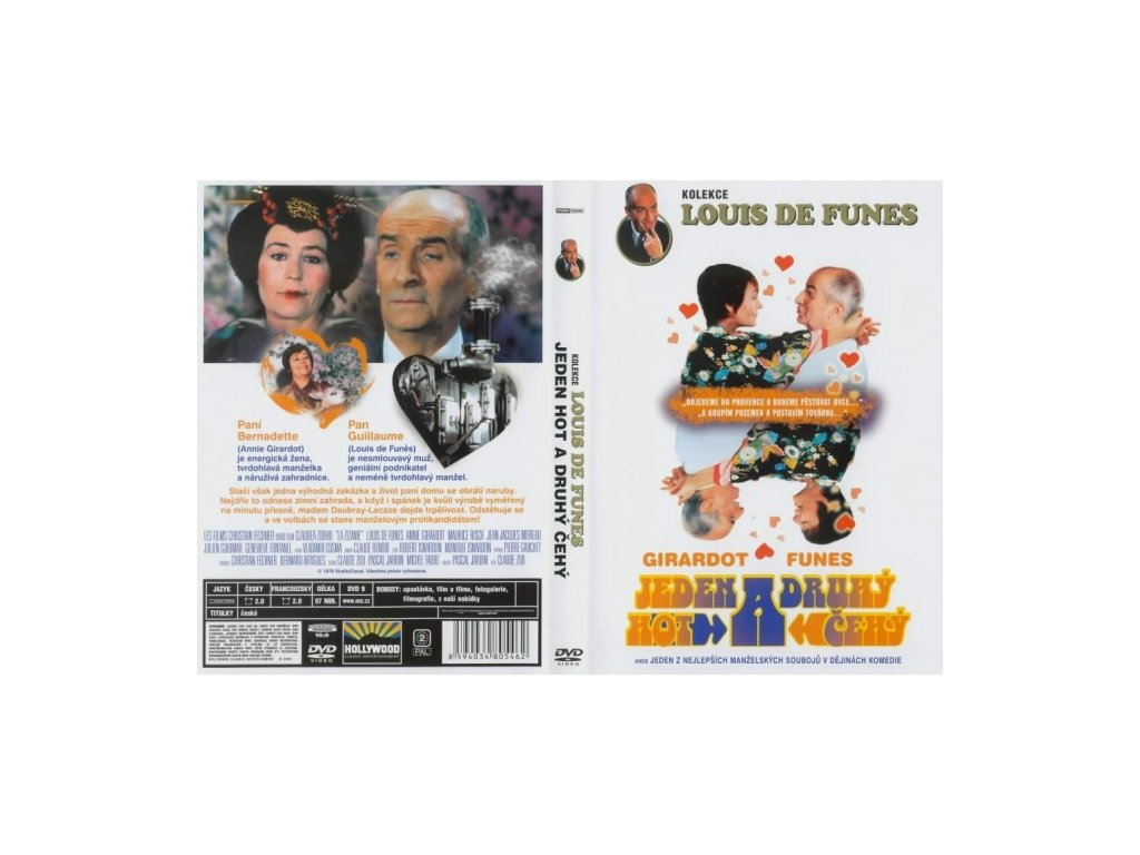 DVD - Jeden Hot a Druhý Čehý