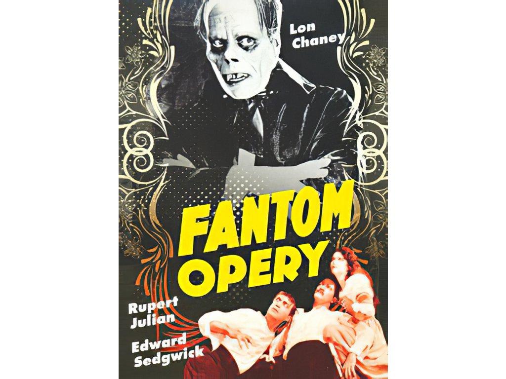 DVD - Fantom opery 1925