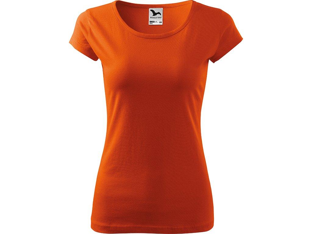 Dámské tričko Pure - Mátové - Zepředu