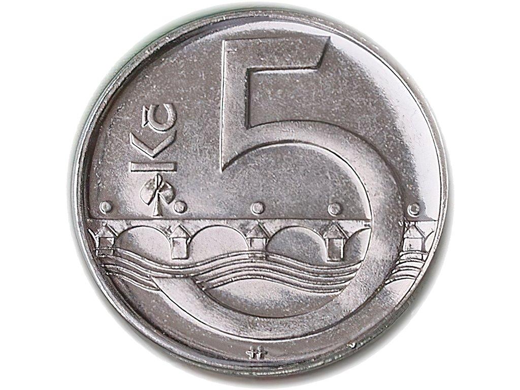 5,- Kč