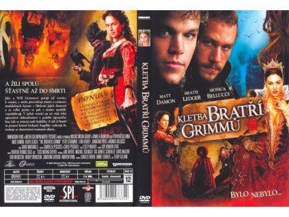 DVD - Kletba bratří Grimmů