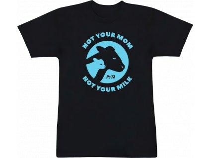 PETA - tričko s nápisem