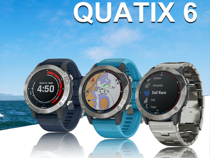 Jachtařské hodinky Garmin Quatix 6
