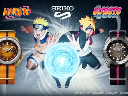 Seiko 5 Sports limitovaná edice NARUTO & BORUTO
