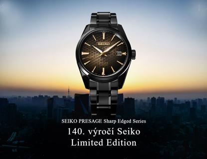 Seiko Presage Sharp Edged Series 140. výročí Seiko
