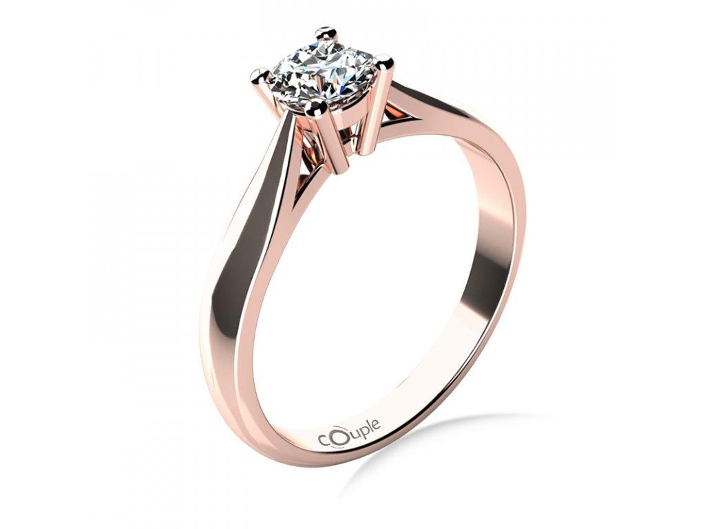 Zlatý dámský prsten Rose 6864012.4
