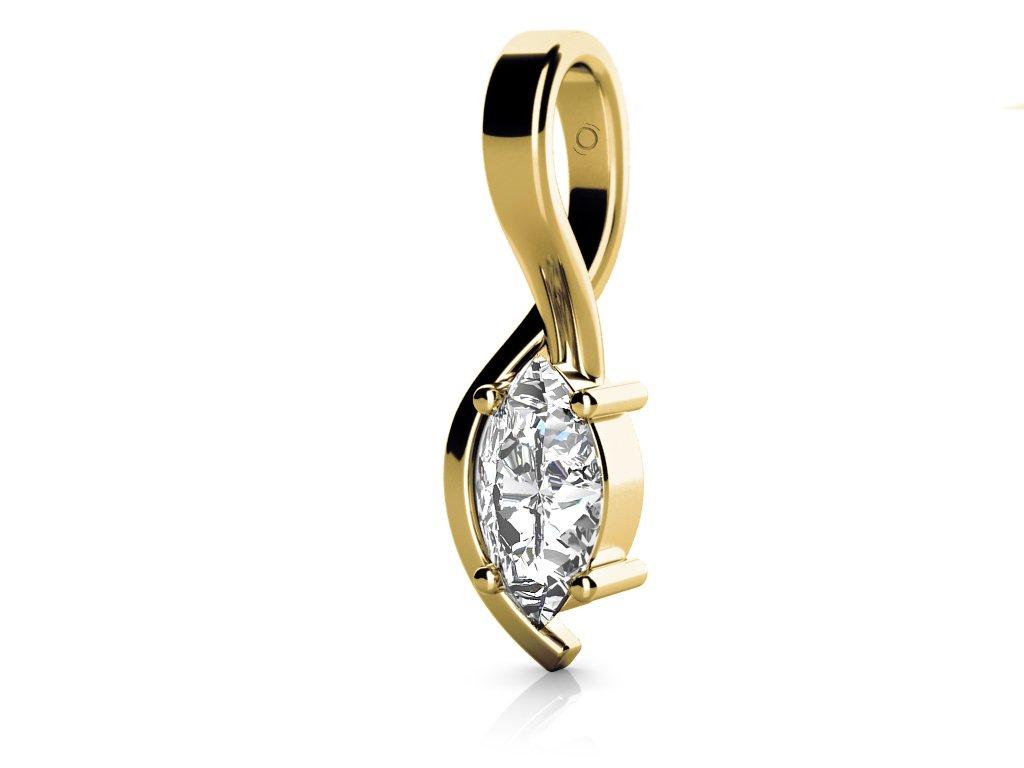 Zlatý dámský přívěsek Stella 6820220  + možnost výměny do 90 dní
