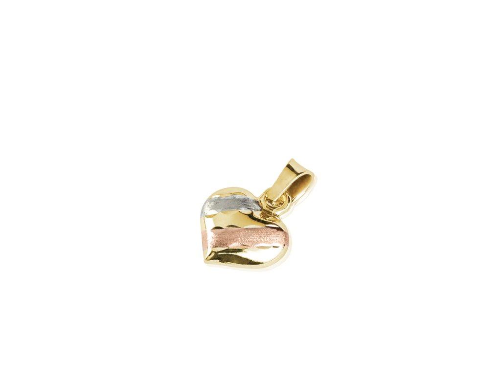Zlatý dámský přívěsek Sisa 1420805  + možnost výměny do 90 dní