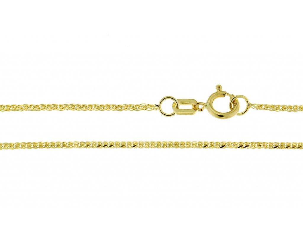 Zlatý řetízek 3640090-0-40-0  + možnost výměny do 90 dní