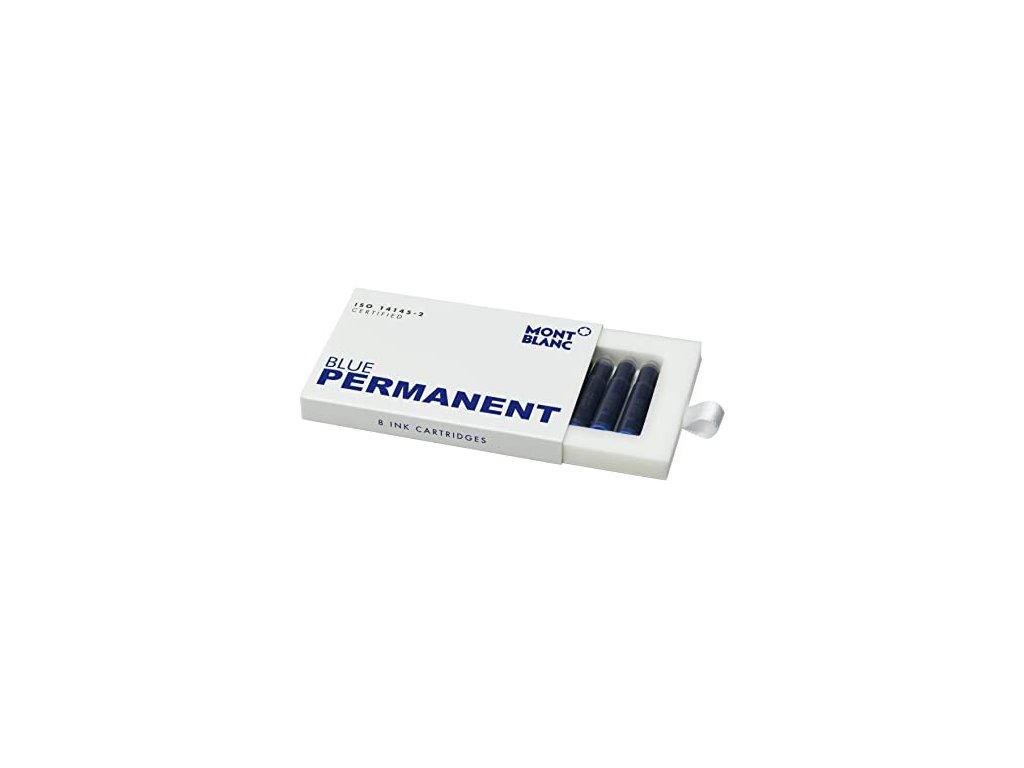 Inkoustová kazeta Montblanc 128208 Permanent Blue