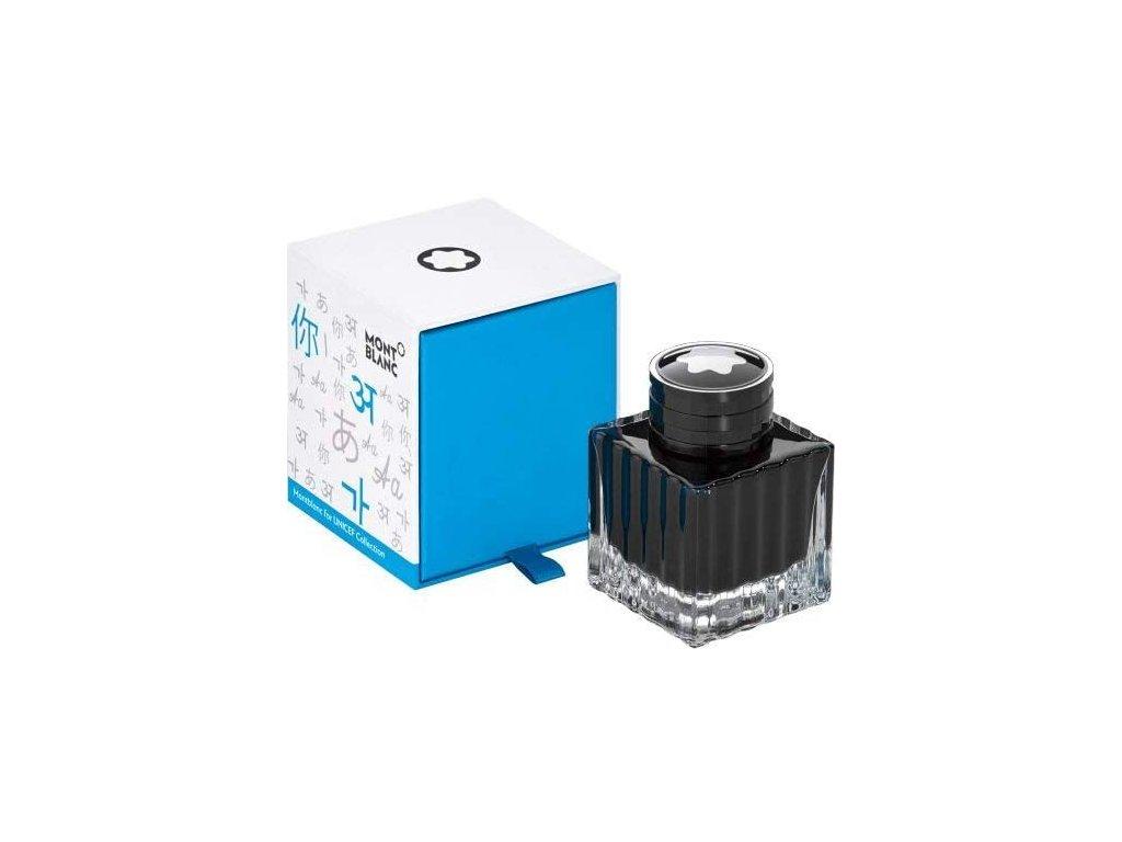 Inkoust Montblanc 116223 Blue 50ml UNICEF