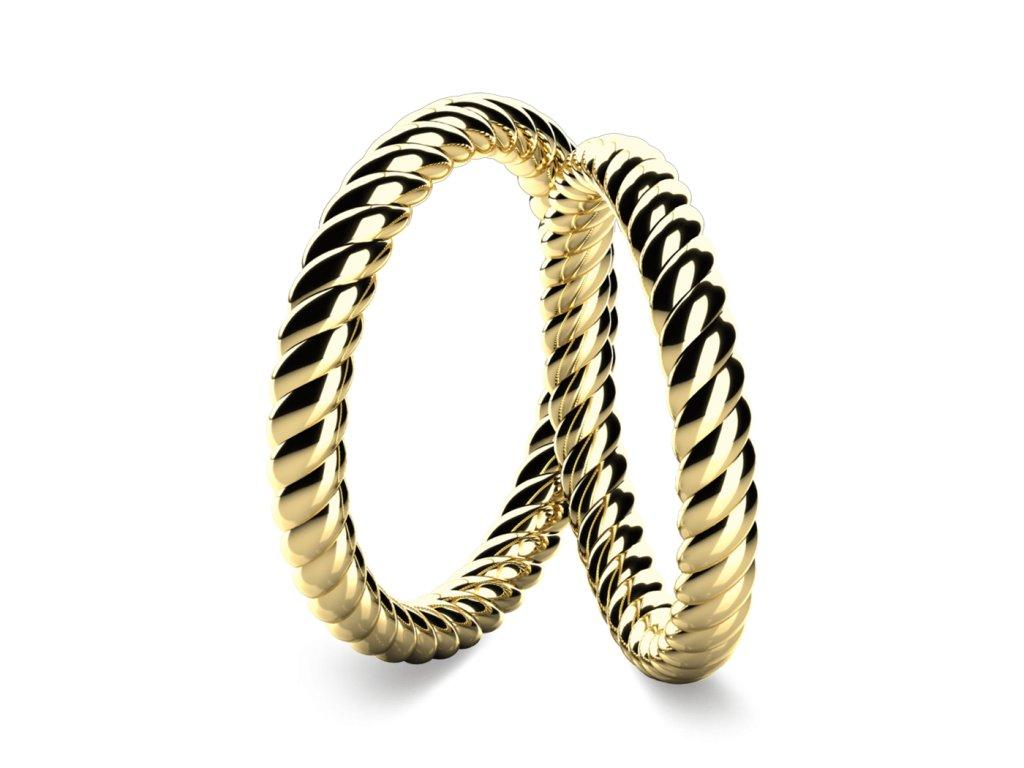 snubni prsteny Solid
