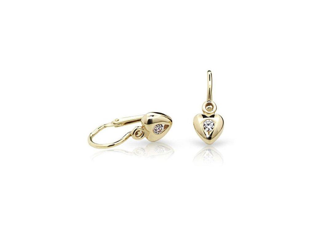 Náušnice dětské Cutie Jewellery C1556-10  + možnost výměny do 90 dní