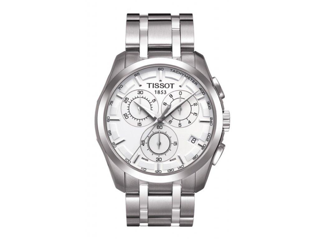 Tissot Couturier T035.617.11.031.00  + prodloužená záruka 5 let + možnost výměny do 90 dní + 5 let na výměnu baterie zdarma