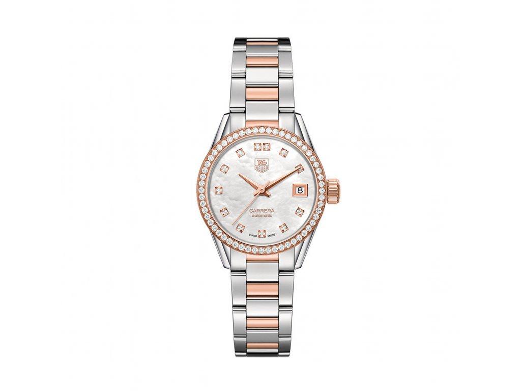 TAG Heuer Carrera WAR2453.BD0777  + prodloužená záruka 5 let + pojištení na rok + natahovač na hodinky ZDARMA