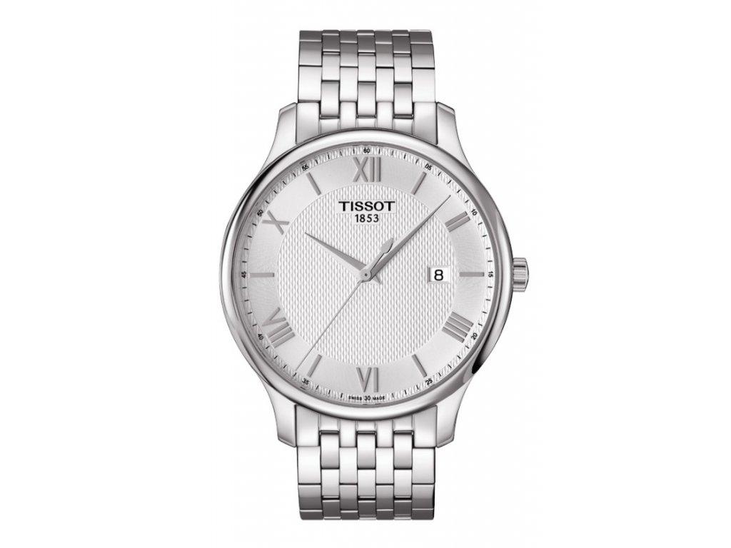 Tissot Tradition T063.610.11.038.00  + prodloužená záruka 5 let + možnost výměny do 90 dní + 5 let na výměnu baterie zdarma