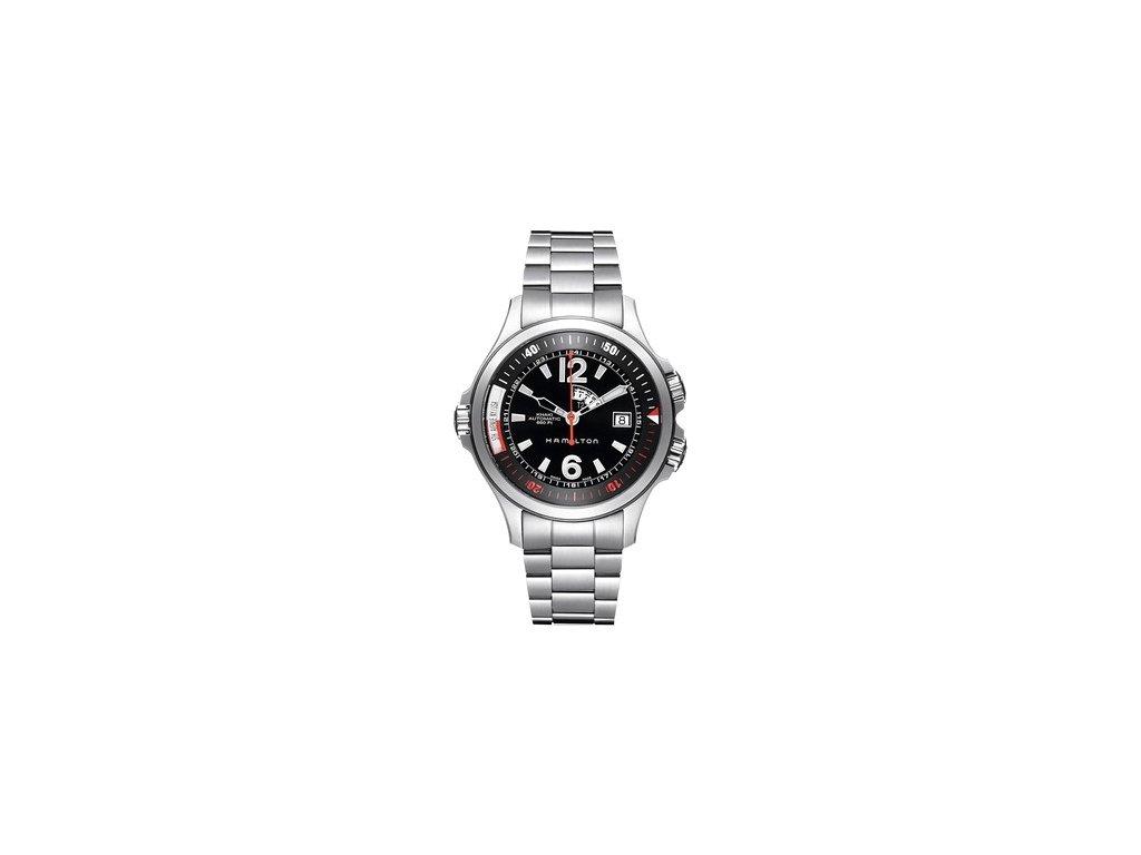Hamilton Khaki Navy GMT H77555135