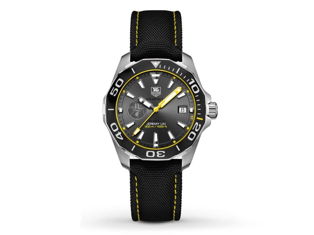 TAG Heuer Aquaracer Jeremy Lin WAY211F.FC6362  + prodloužená záruka 5 let+ možnost výměny do 90 dní + pojištení na rok ZDARMA