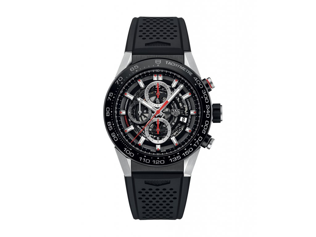TAG Heuer Carrera CAR2A1Z.FT6044  + možnost výměny do 90 dní + natahovač na hodinky