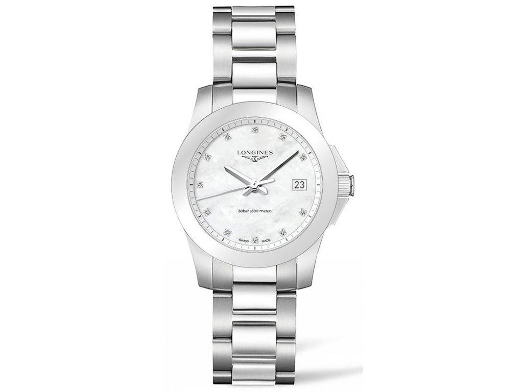 Longines Conquest L3.377.4.87.6 - HELVETIA hodinky šperky e290c256e7