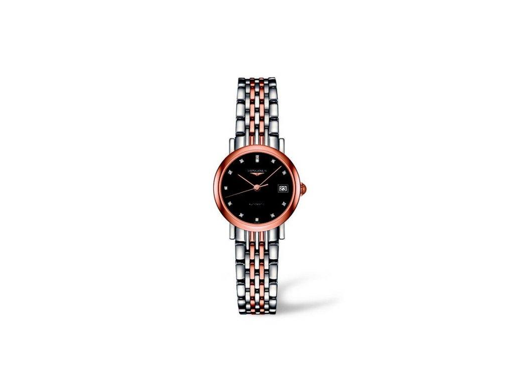Longines Elegant Collection L4.309.5.57.7  + možnost výměny do 90 dní + natahovač na hodinky