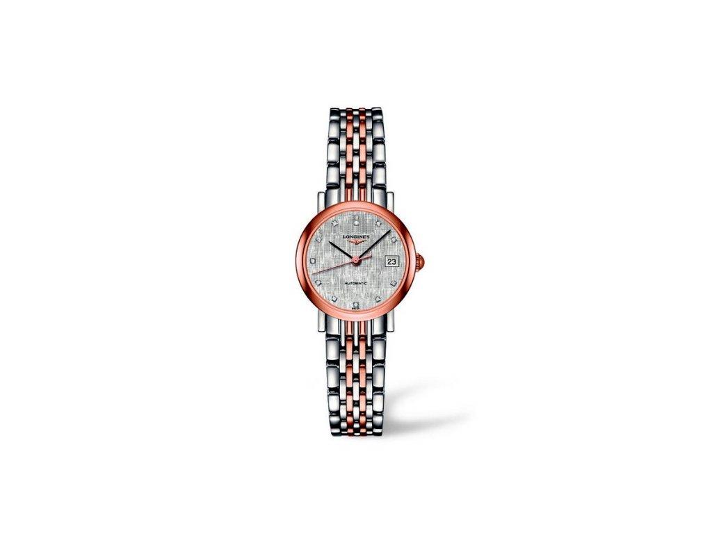 Longines Elegant Collection L4.309.5.77.7  + záruka 5 let + možnost výměny do 90 dní + natahovač na hodinky