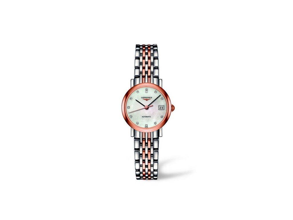 Longines Elegant Collection L4.309.5.87.7  + záruka 5 let + možnost výměny do 90 dní + natahovač na hodinky