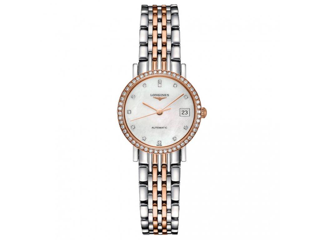 Longines Elegant Collection L4.309.5.88.7  + záruka 5 let + možnost výměny do 90 dní + natahovač na hodinky