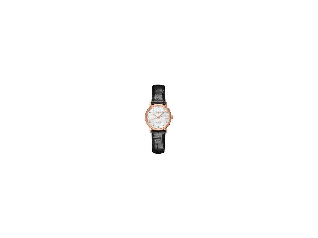 Longines Elegant Collection L4.378.8.87.0  + možnost výměny do 90 dní + natahovač na hodinky