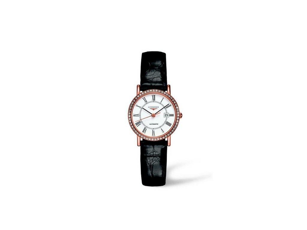 Longines Elegant Collection L4.378.9.11.0  + možnost výměny do 90 dní + natahovač na hodinky