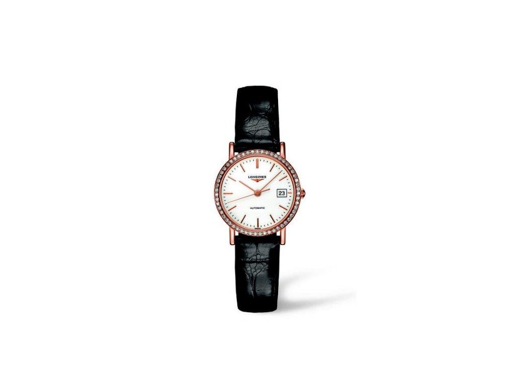 Longines Elegant Collection L4.378.9.12.0  + možnost výměny do 90 dní + natahovač na hodinky