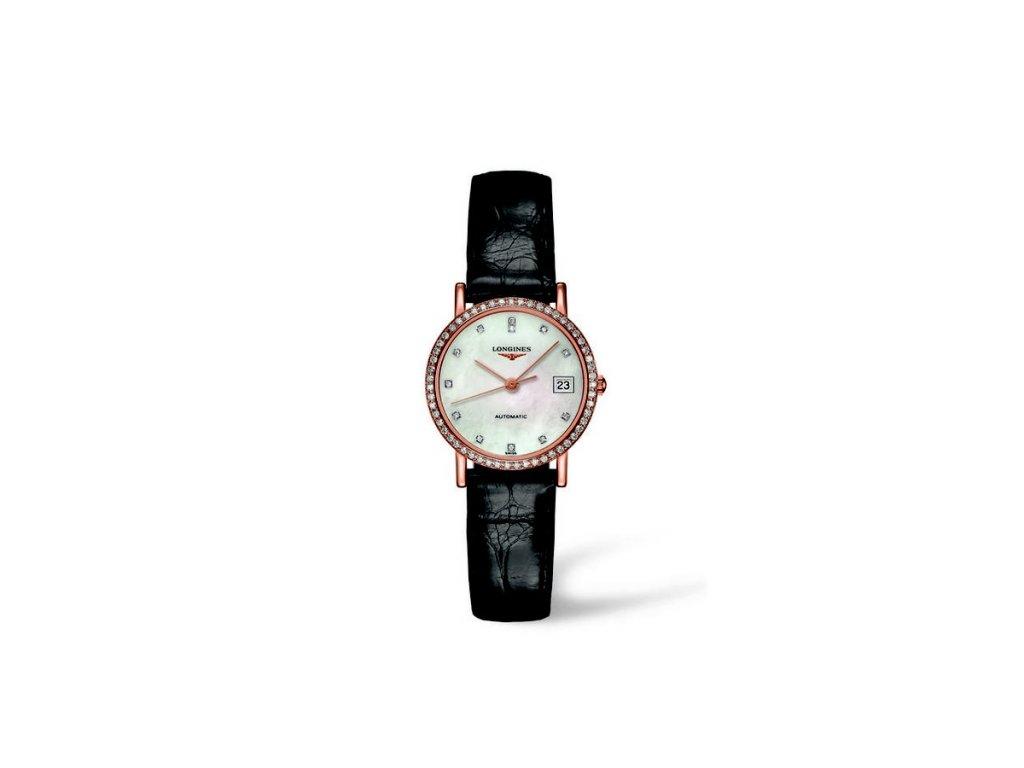 Longines Elegant Collection L4.378.9.87.0  + možnost výměny do 90 dní + natahovač na hodinky