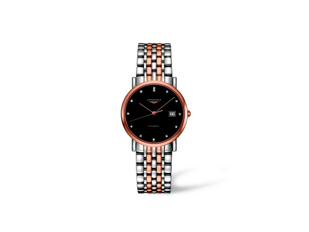 Longines Elegant Collection L4.809.5.57.7  + natahovač na hodinky