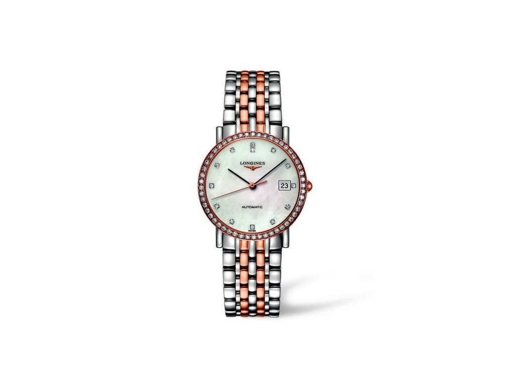 Longines Elegant Collection L4.809.5.88.7  + natahovač na hodinky
