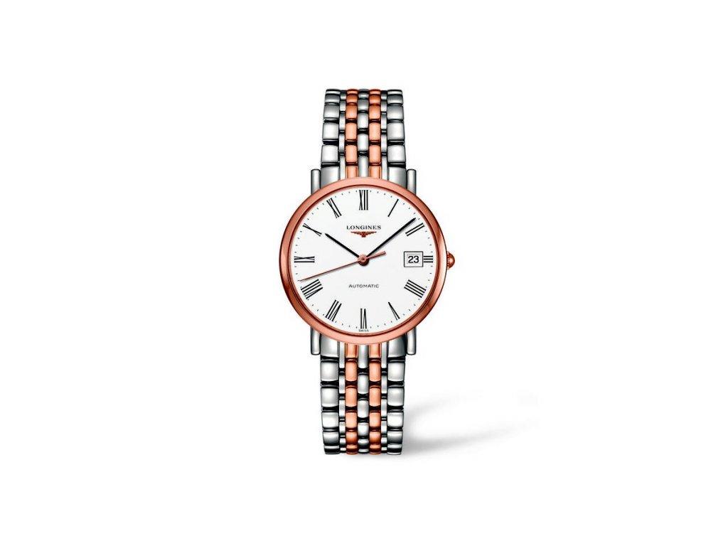 Longines Elegant Collection L4.810.5.11.7  + možnost výměny do 90 dní + natahovač na hodinky