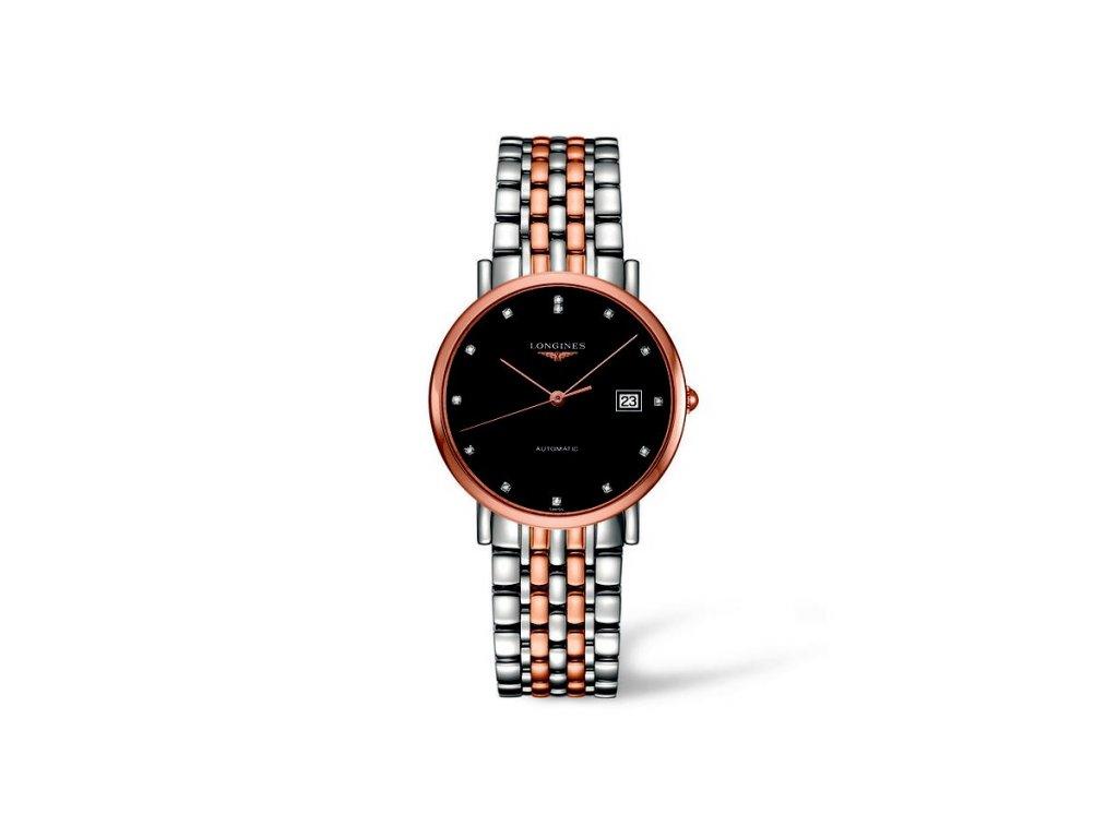 Longines Elegant Collection L4.810.5.57.7  + záruka 5 let + možnost výměny do 90 dní + natahovač na hodinky