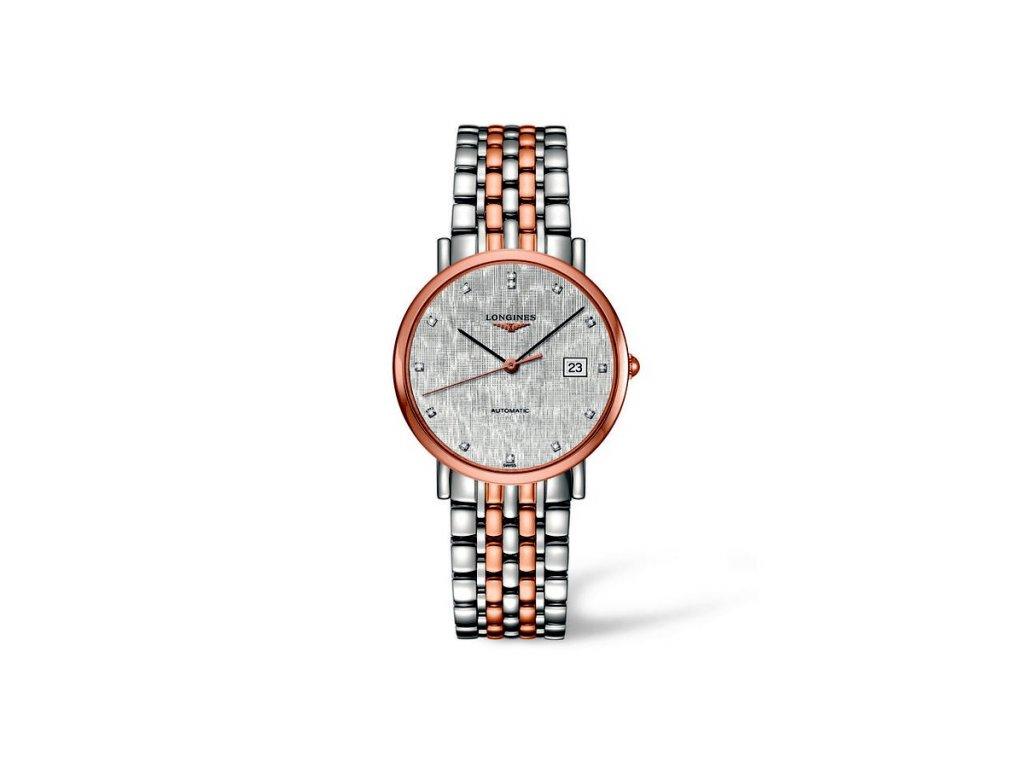 Longines Elegant Collection L4.810.5.77.7  + záruka 5 let + možnost výměny do 90 dní + natahovač na hodinky