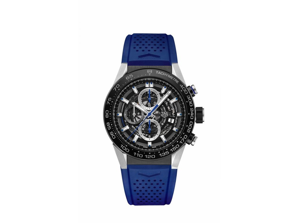 TAG Heuer Carrera Blue Touch Edition CAR2A1T.FT6052  + prodloužená záruka 5 let + pojištení na rok + natahovač na hodinky ZDARMA