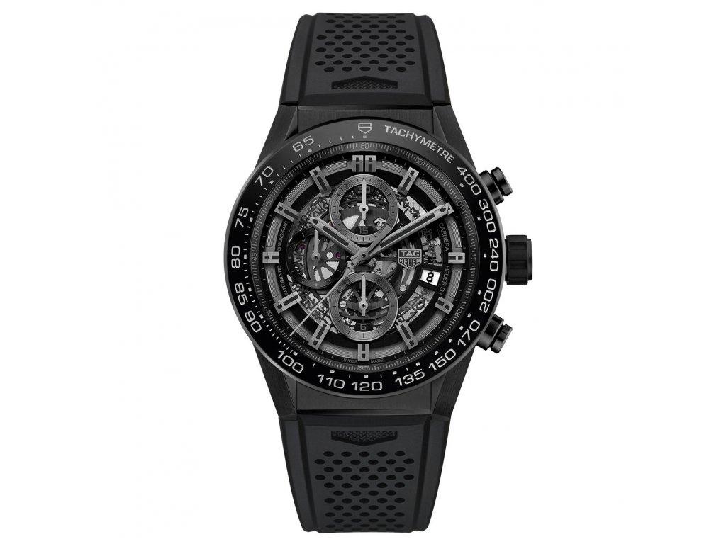 TAG Heuer Carrera Black Ceramic CAR2A90.FT6071  + natahovač na hodinky