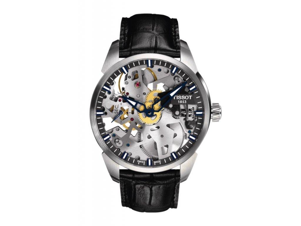 Tissot T-Classic Complication Squelette T070.405.16.411.00  + možnost výměny do 90 dní