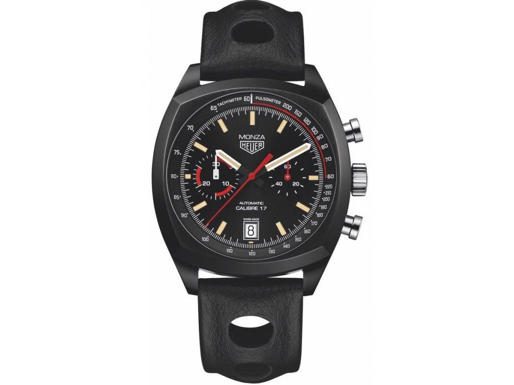 TAG Heuer Heritage MONZA CR2080.FC6375  + prodloužená záruka 5 let+ možnost výměny do 90 dní + pojištení na rok + natahovač na hodinky ZDARMA