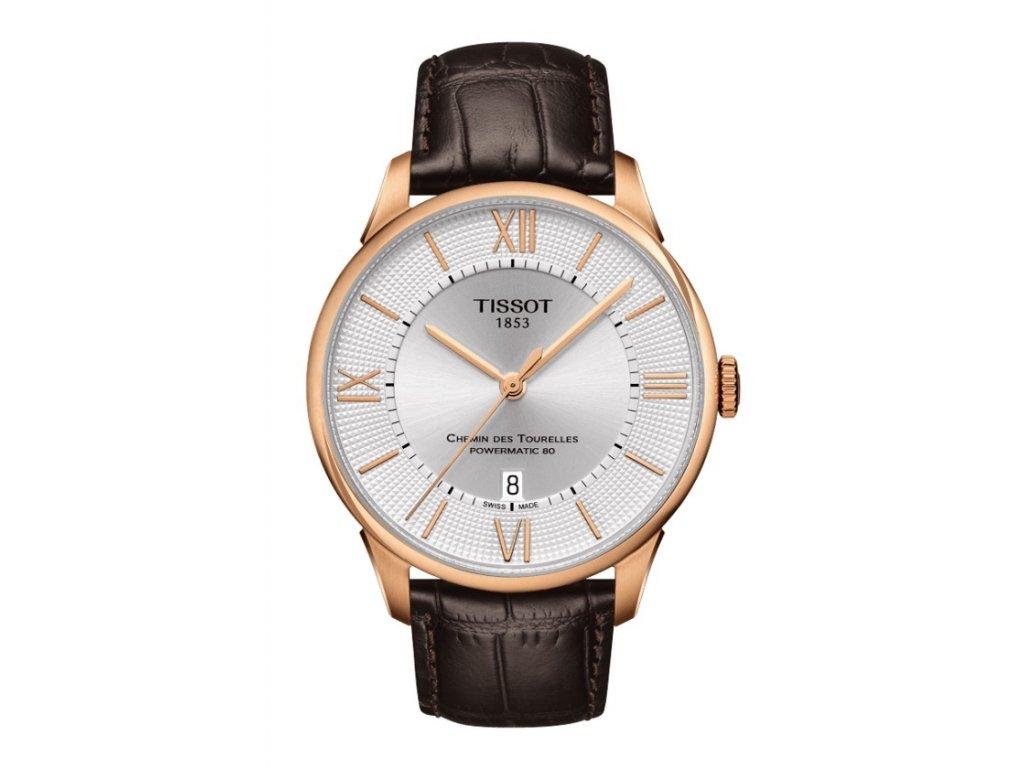 Tissot T-Classic Chemin Des Tourelles T099.407.36.038.00  + prodloužená záruka 5 let + možnost výměny do 90 dní