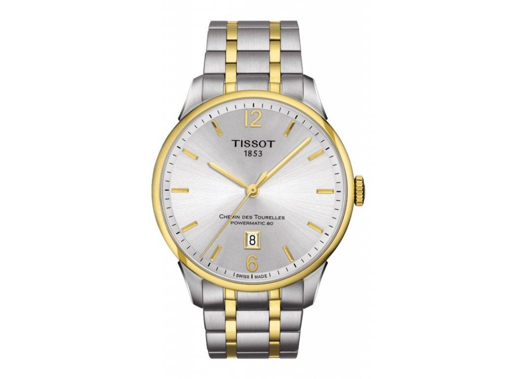 Tissot T-Classic Chemin Des Tourelles T099.407.22.037.00  + prodloužená záruka 5 let + možnost výměny do 90 dní