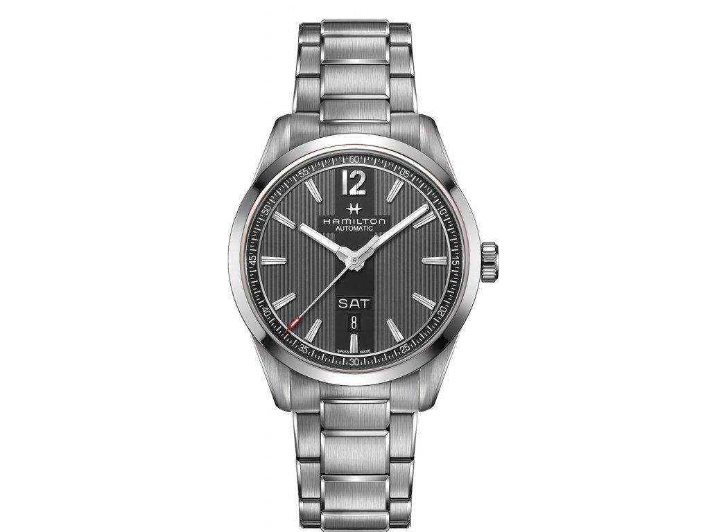 e61322c7d Hodinky Hamilton s funkcí datum - HELVETIA hodinky šperky