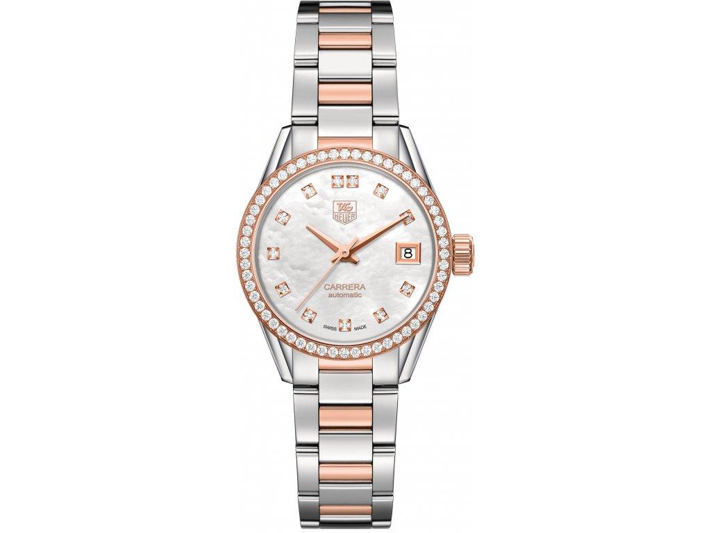 TAG Heuer Carrera WAR2453.BD0777  + prodloužená záruka 5 let+ možnost výměny do 90 dní + pojištení na rok + natahovač na hodinky ZDARMA