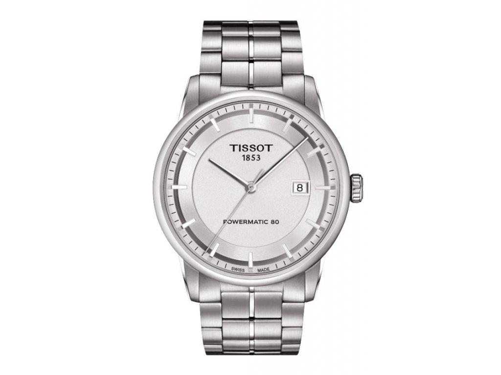 Tissot T-Classic Luxury T086.407.11.031.00  + prodloužená záruka 5 let + možnost výměny do 90 dní